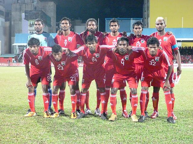 Мальдивы сборная по футболу